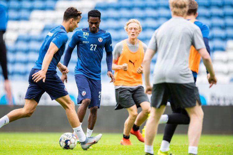 """Inför Fremad Amager: Träningsrapport och intervju med Benjamin Acquah: """"Fansen är underbara"""""""