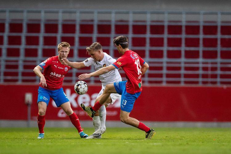HIF spelade 0-0 mot ett spelförstörande Vasalund