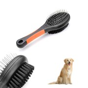 double sided pet brush dog cat