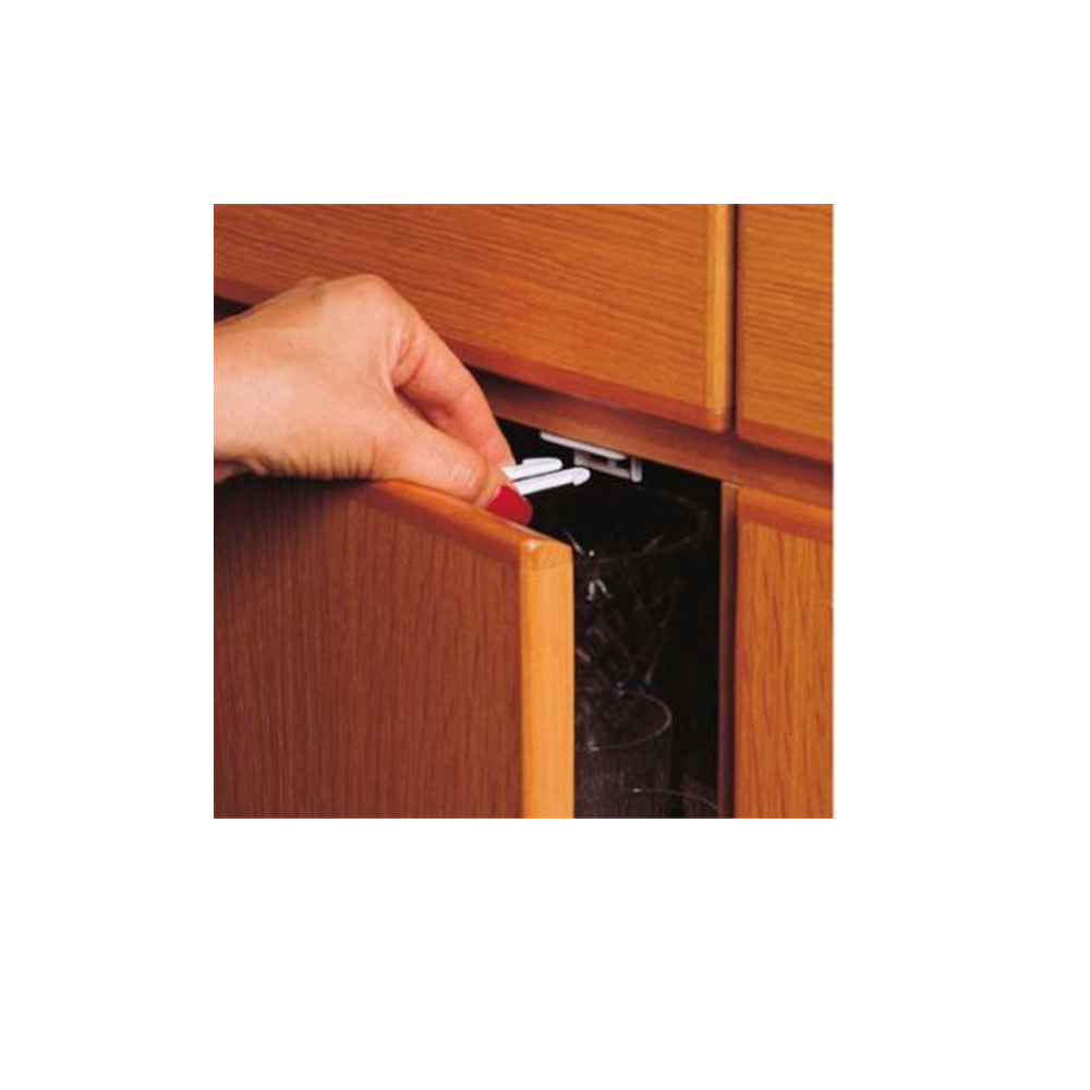New 4 Pk Cabinet Drawer Latches Child Safety Cabinet