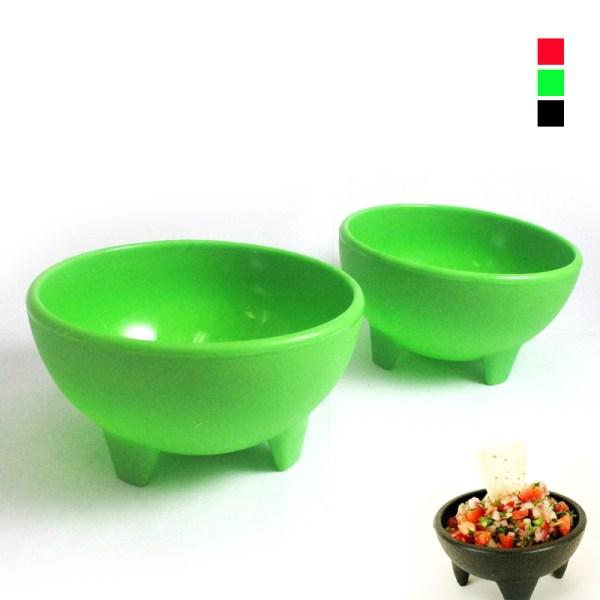 Mexican Salsa Bowls Molcajete