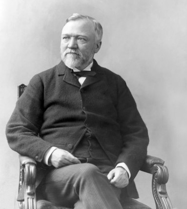 andrew carnegie - richest humans in history