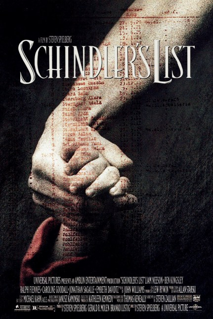 top 10 movies - schindlers list