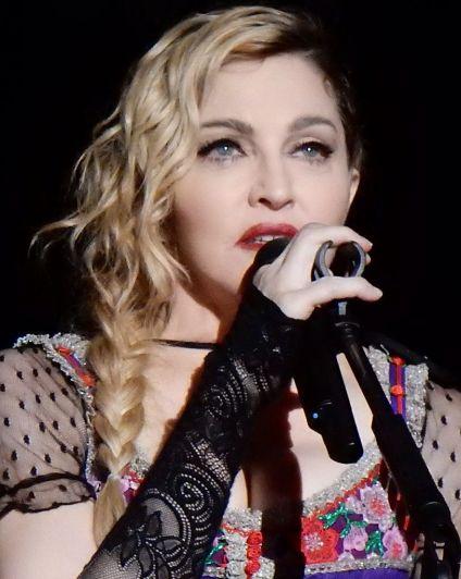 madonna best selling female music artist singer
