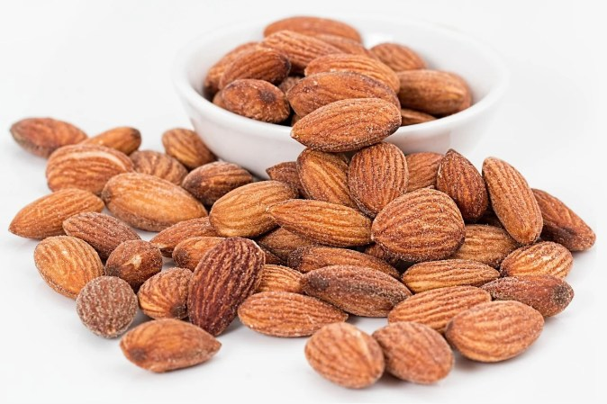 healthiest foods in the world - almonds