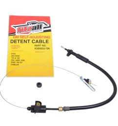 detent cable universal th350 350c [ 1000 x 1000 Pixel ]