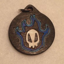Anime Bleach Wood Necklace