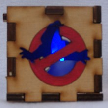 Ghostbusters LED Gift Box blue