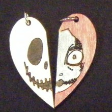 Jack And Sally Hearts