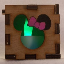 Minnie Lit Green