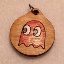 Pacman Ghost Red