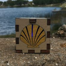 Seashell Outside LED Gift Box