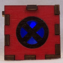 X-Men LED Gift Box blue