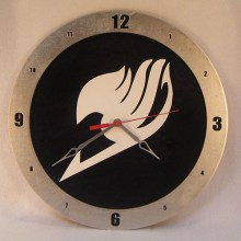 Fairy Tails black background, 14 inch Build-A-Clock