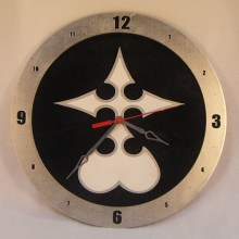 Nobody Kingdom Hearts black background, 14 inch Build-A-Clock