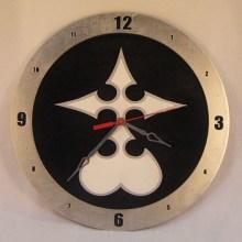 Nobody Kingdom Hearts black background, 14 inch Build-A-Clock