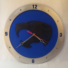 Thundercats Blue Background Clock