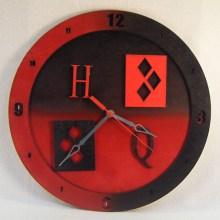 Harley Quinn 14 inch Clock