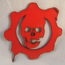 Gears of War Symbol Art Insert for Build-A-Clocks