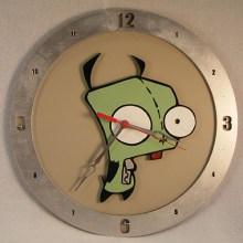 Gir Beige Background Clock