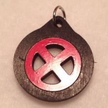 X-Men Wood Necklace