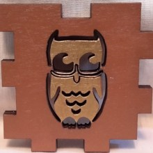 Owl LED Gift Box