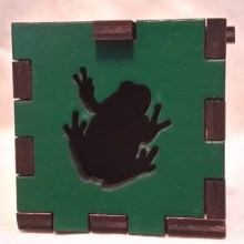 Frog LED Gift Box not lit