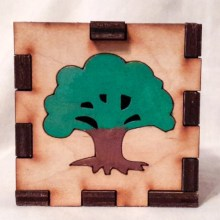 Tree LED Gift Box no light