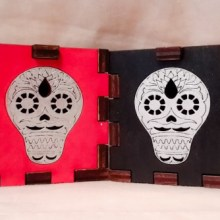 Sugar Skull bothLED Gift Box