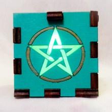 Pent Aqua lit green