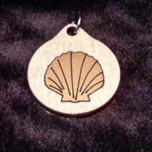 Seashell Wood Necklace