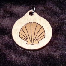 Seashell Wood Necklace