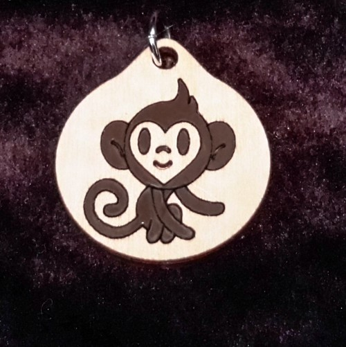 Monkey Boy Pendant