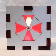 Umprella Corp LED Gift Box red