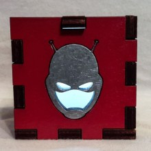 Antman LED Gift Box White