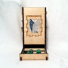 Attack On Titan Dice Tower