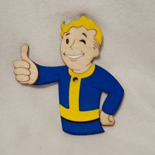 Vault Boy Wall Art