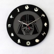"Premade 14"" Darth Vader (Star Wars Enthusiast) Wall Clock"