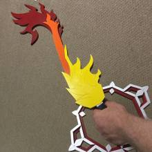 eternal flame keyblade replica