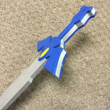 "17"" Kids Costume Size Link Master Sword Wooden Replica Halloween"