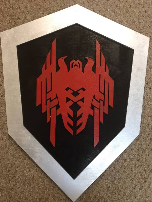 "23"" Dragon Age Shield"