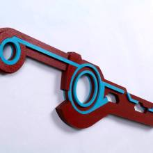 Xenoblade Monado Sword Cosplay Replica