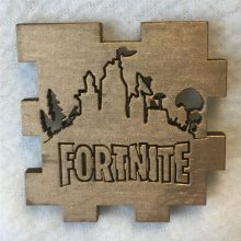 Fortnite Wood Tea Light Front