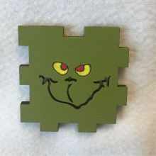 Grinch LED Gift Box