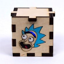 Rick and Morty LED Gift Box blue