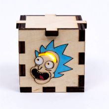 Rick and Morty LED Gift Box yellow