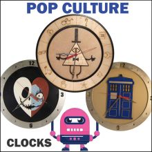 Clocks - Pop Culture