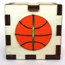 Basketball LED Box Green