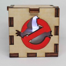 Ghostbusters LED Box White