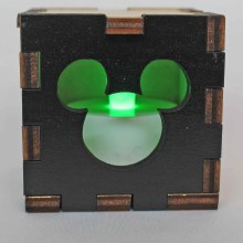 Mickey Lit Green